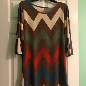Auditions 3/4 sleeve top NWOT